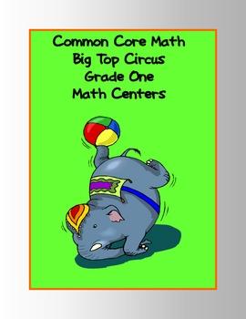 Common Core Standards Math Big Top Circus Games: Grade 1