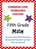 Common Core Standards Posters AND Essential Questions Post