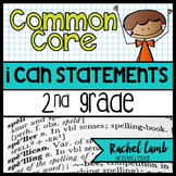 Common Core Standards Posters for 2nd grade