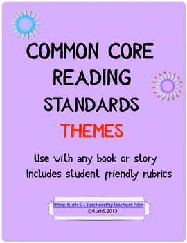 Common Core Standards Reading Themes