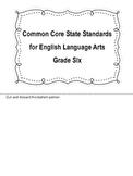 Common Core Standards for ELA & Mathematics Layered Flipbo