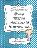 Common Core State Standards 1st Grade Assessment Checklist