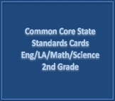 Common Core State Standards Cards 2nd Grade