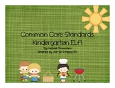 Common Core State Standards: Kindergarten ELA