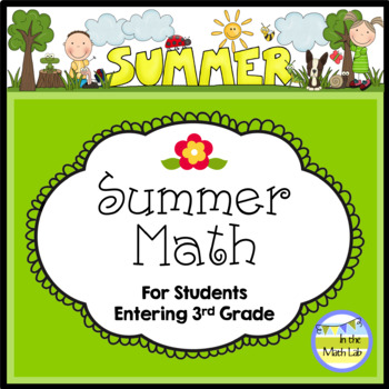 Summer Math - 2nd Graders Going to 3rd