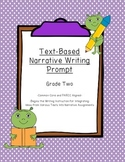 Common Core Text-Dependent Narrative Writing Prompt Grade 2