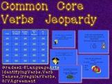 Common Core Verbs TV Trivia Game-Grades 2-5-Fun Review!