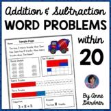 Addition & Subtraction Word Problems With Bonus/Enrichment