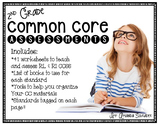 Common Core  Worksheets & Graphic Organizers aligned to th
