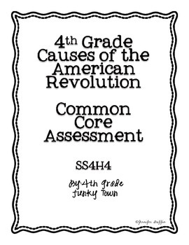 Common Core:Social Studies: Causes of the American Revolut