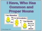 Common and Proper Noun Game - I Have, Who Has