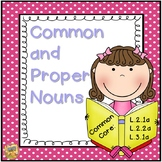 Common and Proper Noun Unit - 2nd and 3rd Grade!  L.2.1a,