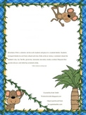 *UPDATED 7/24/15* EDITABLE- Communication Calendar Monkeys