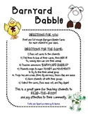 Community Game - Barnyard Babble