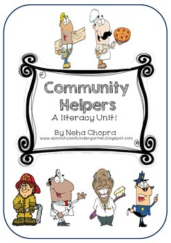 Community Helpers- A Literacy Unit!