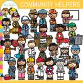 Little Shorties Community Helpers Clip Art