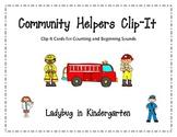 Community Helpers Clip-It Centers