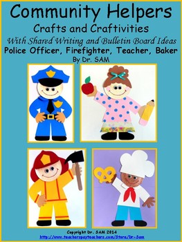 Community Helpers Craft (Bundle) with Shared Writing and B