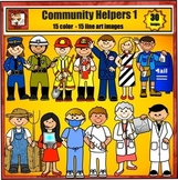 Community Helpers Clip Art - Jobs and Careers by Charlotte
