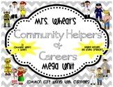 Community Helpers and Careers Mega Unit