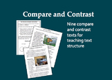 Compare and Contrast Texts for Teaching Text Structure