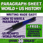 How to write 11 sentence Paragraph for Compare Contrast Wr