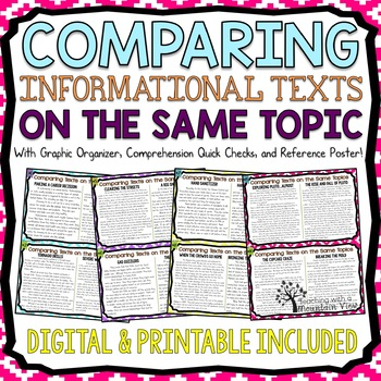 Comparing Texts on the Same Topic Task Cards