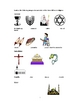 Comparison chart of Judaism, Catholicism, and Islam
