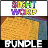 Dolch Sight Word Practice Bundle - 220 Dolch Sight Words