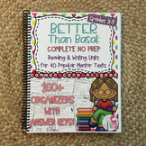 Complete NO PREP Reading and Writing Units: Better Than Ba
