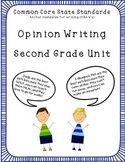 Opinion Writing Unit! Common Core Aligned for Primary Grades