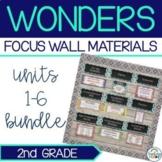 Complete Wonders Focus Wall Materials {2nd Grade}