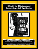 Job Application, Careers, Vocational, Reading
