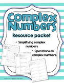 Complex Numbers Resource Packet