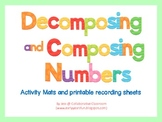 Composing and Decomposing Number - Activity mats using play dough