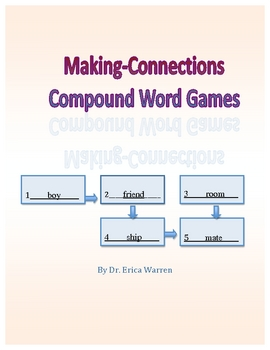 Compound Word Puzzle Games: Making Connections