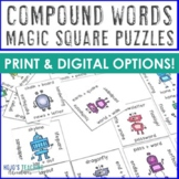 Compound Words Center Game