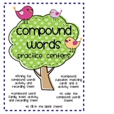 Compound Words Practice Activities