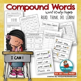 Compound Words - Word Study for Second and Third Grade- Ho
