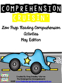 "Comprehension Cruisin""  May Read Aloud And Comprehension C"