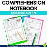 Comprehension Notebook {Kindergarten Edition}