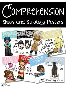 Comprehension Skill & Strategy Posters