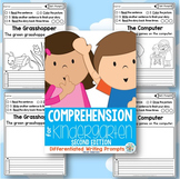 Comprehension for Kindergarten: Differentiated Writing Pro
