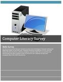 Computer Literacy Survey: Grades 5-8