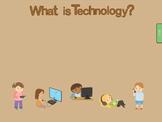 Computer Parts and Storage Devices Kindergarten SmartBoard Lesson