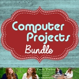 Computer Projects Galore For ALL Subjects- WHOLE YEARS WORTH