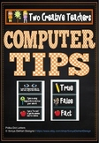 Computer Tips and Cyber Safety for Students