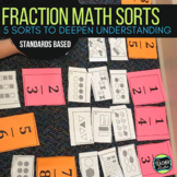 Concept Sorts:  A Set of 5 Fraction Sorts for Grades 4 and 5