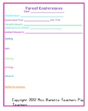 Conference Forms - Elementary