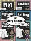 Story Elements in 5 Days:  BUNDLED Lessons to Teach Fictio